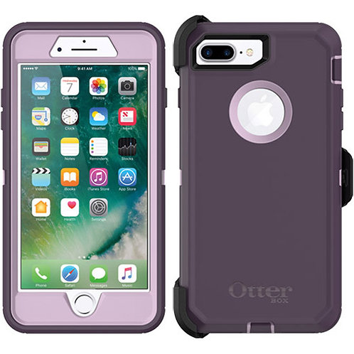 OtterBox Defender Case for Apple iPhone 8 Plus / 7 Plus - Purple Nebula
