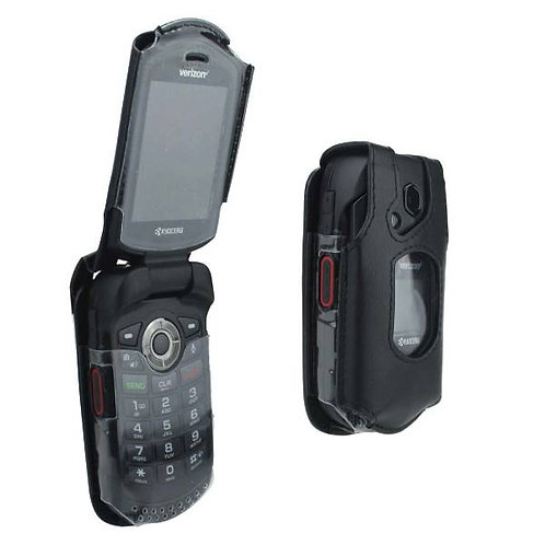 Kyocera DuraXV LTE Verizon OEM Fitted Case Cover - Black