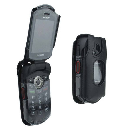 best service da723 66520 Kyocera DuraXV LTE Verizon OEM Fitted Case Cover - Black