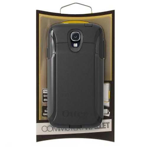 OtterBox Commuter Wallet Case Cover for Samsung Galaxy S4 - Black
