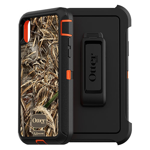 Otterbox - Defender Case For Apple iPhone Xs / X - Realtree Max 5 HD