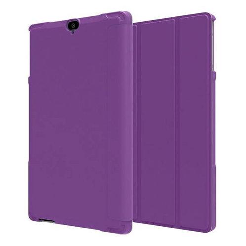 Verizon Ellipsis 8 HD Rome Tech OEM Folio Case w/Stand - Purple