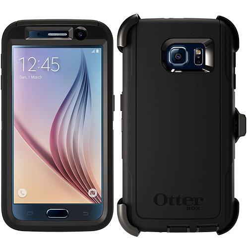OtterBox Defender Case for Samsung Galaxy S6 - Black