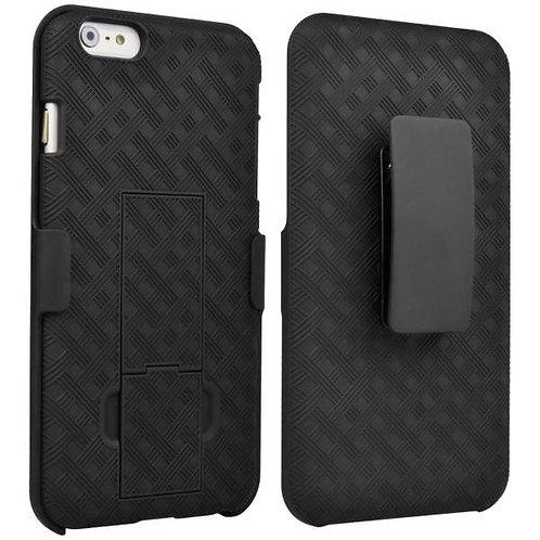 Apple iPhone 6/6s Plus Rome Tech OEM Shell Holster Combo Case - Black