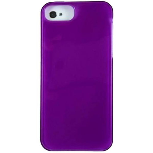 Apple iPhone 5/5s/SE Rome Tech OEM High Gloss Silicone Case - Purple