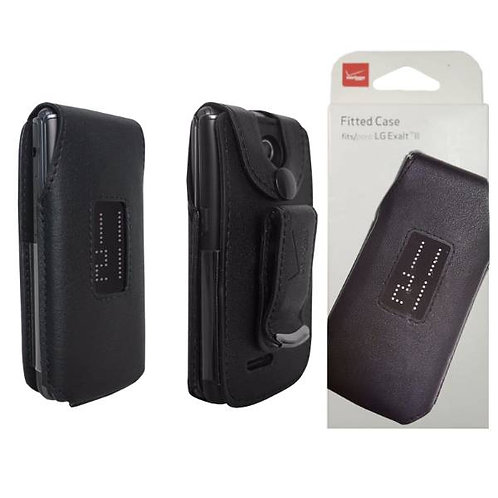 LG Exalt 2 Verizon OEM Fitted Case Cover- Black
