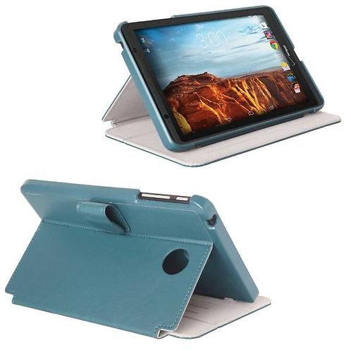 Verizon Ellipsis 8 Rome Tech OEM Folio Case w/Clip - Blue