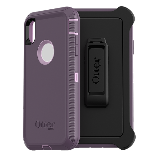 OtterBox Defender Case for Apple iPhone Xs Max - Purple Nebula