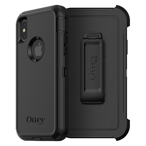 OtterBox Defender Case for Apple iPhone X - Black