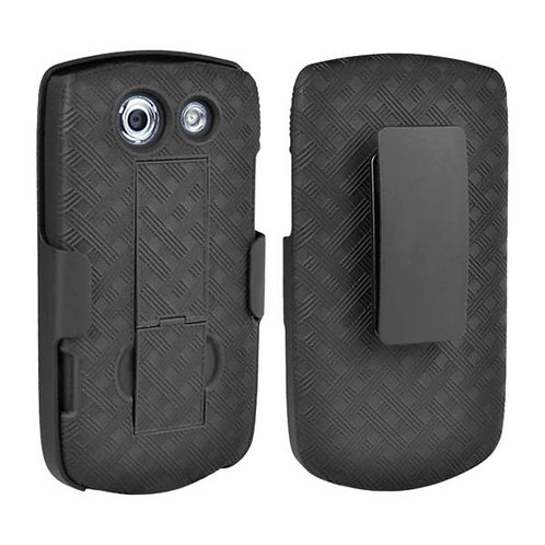 Kyocera Brigadier Rome Tech OEM Shell Holster Combo Case - Black