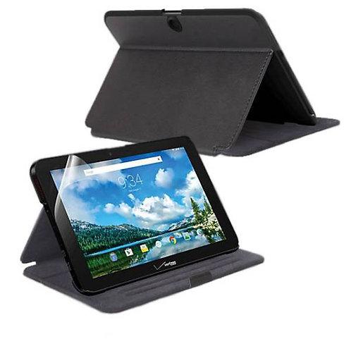 Verizon Ellipsis 10 Rome Tech OEM Folio Case w/Stand - Black