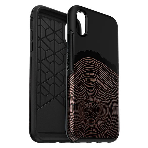 OtterBox Symmetry Case For Apple iPhone XR - Wood You Rather