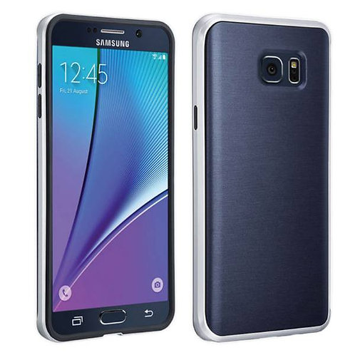 Samsung Galaxy Note 5 Rome Tech OEM Soft TPU Case w/ Bumper - Blue