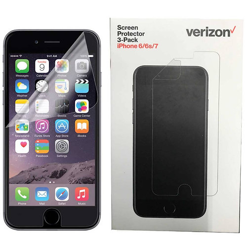Apple iPhone 6 / iPhone 6s Verizon OEM Screen Protector Kit 3 Pack 2018 - Clear