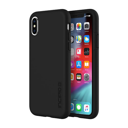 Incipio DualPro Case for Apple iPhone Xs / X - Black