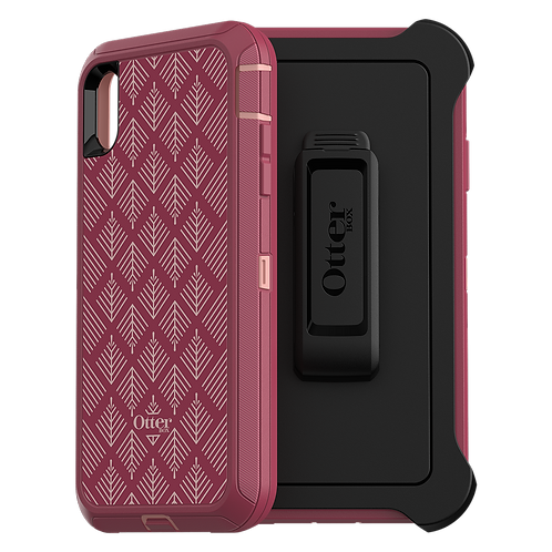 Otterbox - Defender Case for Apple iPhone Xs Max - Happa