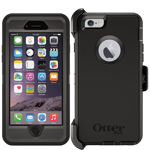 OtterBox Defender Case for Apple iPhone 6s / 6 - Black