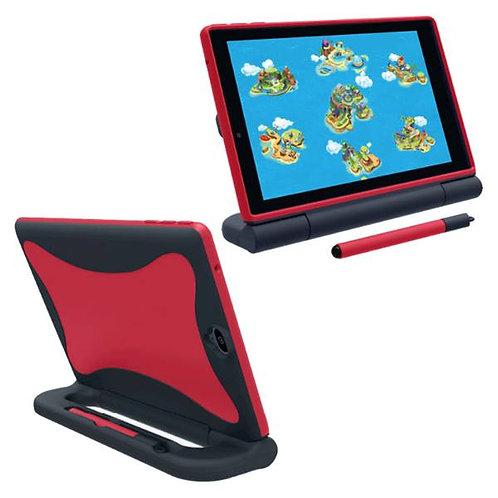 Verizon GizmoTab Rome Tech OEM Kids Case w/Stylus - Red / Blue