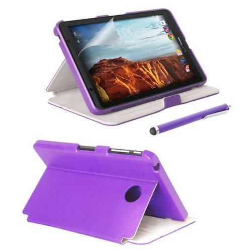 Verizon Ellipsis 8 Rome Tech OEM FolioCase w/Screen & w/Stylus - Purple