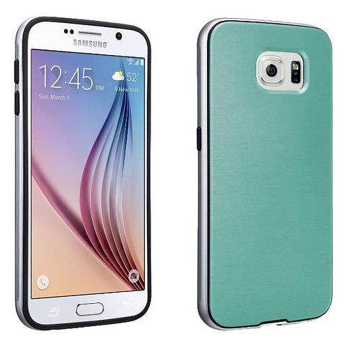 Samsung Galaxy S6 Rome Tech OEM Soft Cover Case w/Bumper - Green