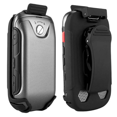 Samsung Convoy 3 Rome Tech OEM Holster Case Cover - Black