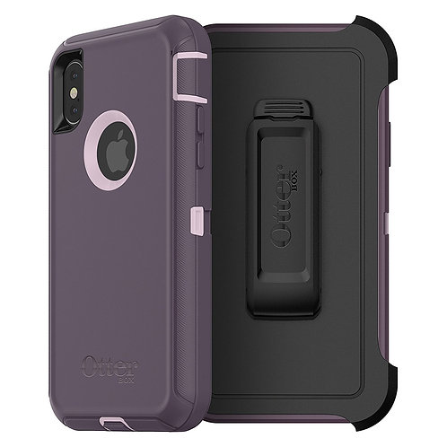 OtterBox Defender Case for Apple iPhone X - Purple Nebula