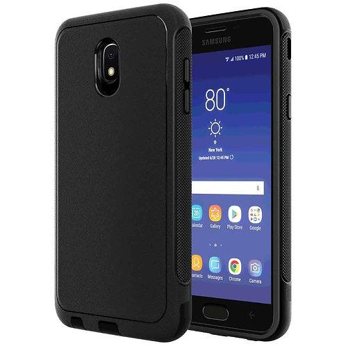 Samsung Galaxy J7 / Galaxy J7 V (2nd Gen 2018) Rome Tech OEM Rugged Case - Black
