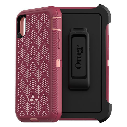 OtterBox Defender Case for Apple iPhone Xs / X - Happa