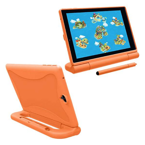 Verizon GizmoTab Rome Tech OEM Kids Case w/Stylus - Orange