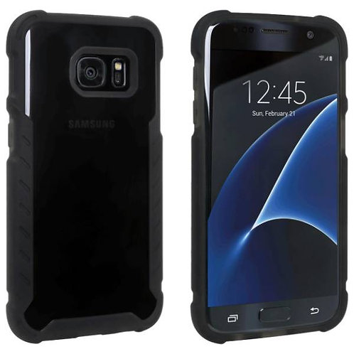 Samsung Galaxy S7 Rome Tech OEM Matte Silicone Case Cover - Black