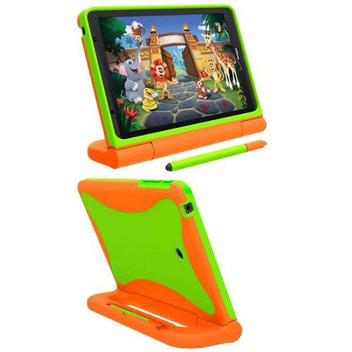 "Verizon Ellipsis Kids Tablet 8"" Rome Tech OEM Kids Case - Orange / Green"