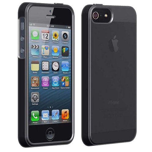 Apple iPhone 5 / 5s / SE Verizon OEM High Gloss Silicone Case - Black