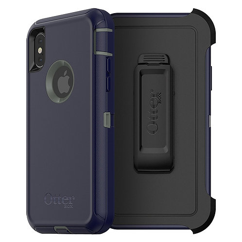 OtterBox Defender Case for Apple iPhone X - Stormy Peaks