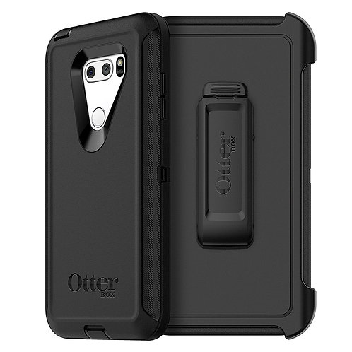 OtterBox Defender Case for LG V30 / V30 Plus / V35 ThinQ - Black