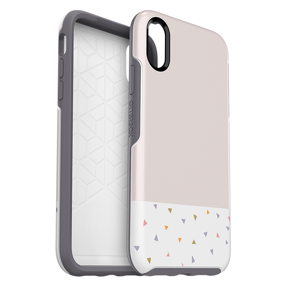 cozy fresh 3f1d6 203ff OtterBox Symmetry Case for Apple iPhone XR - Party Dip