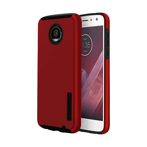 Moto Z2 Play Incipio DualPro Case - Iridescent Red / Black