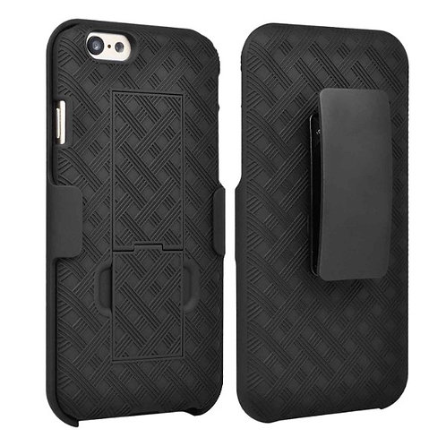 Apple iPhone 6/6S Rome Tech OEM Shell Holster Combo Case - Black