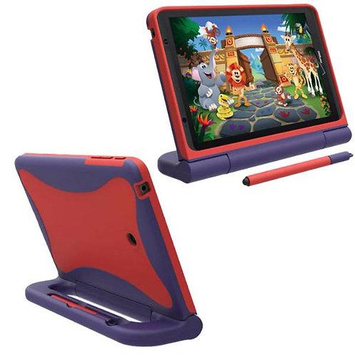 "Verizon Ellipsis Kids Tablet 8"" Rome Tech OEM Kids Case - Red / Blue"