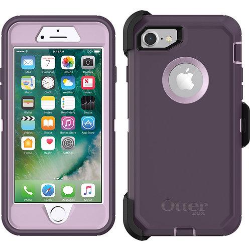OtterBox Defender Case for Apple iPhone 8 / 7 - Purple Nebula