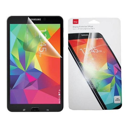 "Samsung Galaxy Tab 4 8.0"" Verizon OEM Screen Protector Kit - 3 Pack"