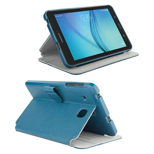 "Samsung Galaxy Tab E 8.0"" Rome Tech OEM Folio Case w/Stand - Blue"