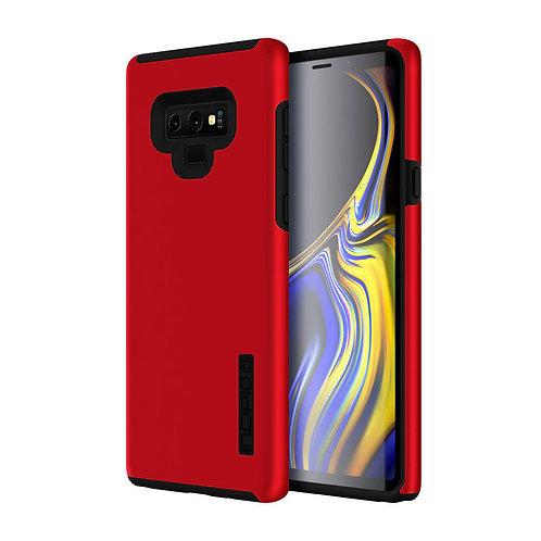 Incipio DualPro Case for Samsung Galaxy Note 9 - Iridescent Red and Black