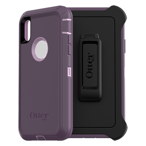 OtterBox Defender Case for Apple iPhone XR - Purple Nebula
