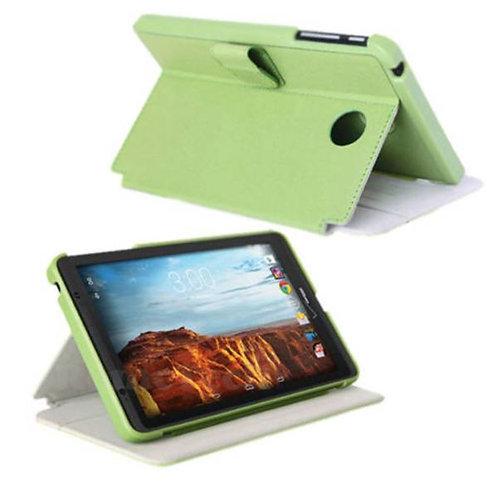 Verizon Ellipsis 8 Rome Tech OEM Folio Case w/Clip and w/Stand - Green