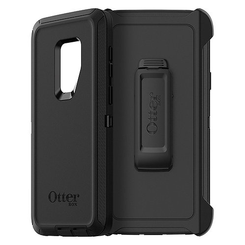 OtterBox Defender Case for Samsung Galaxy S9 Plus - Black