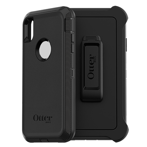 Otterbox - Defender Case for Apple iPhone Xs Max - Black