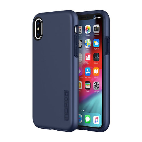 Incipio DualPro Case for Apple iPhone Xs / X - Midnight Blue