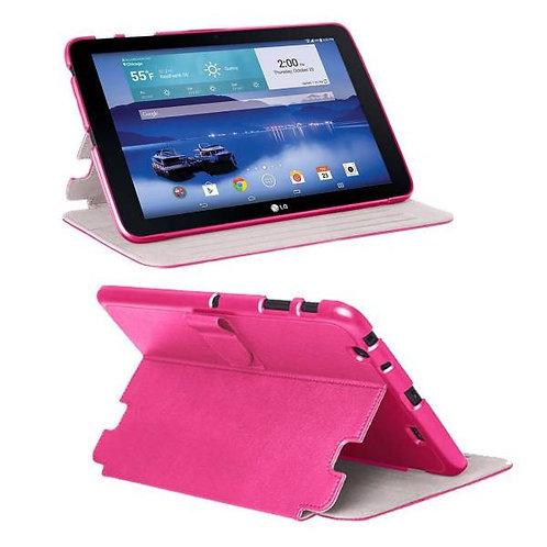 LG G Pad 10.1 LTE Rome Tech OEM Folio Case - Pink