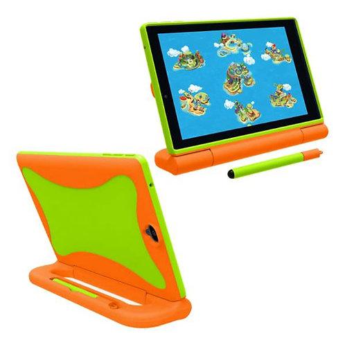 Verizon GizmoTab Rome Tech OEM Kids Case w/Stylus - Orange / Green