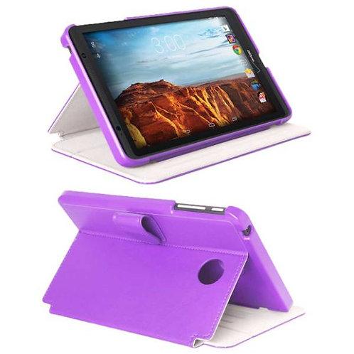 Verizon Ellipsis 8 Rome Tech OEM Folio Case w/Clip - Purple
